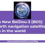 China's New BeiDou-3 (BDS) the fourth navigation satellites system in the world